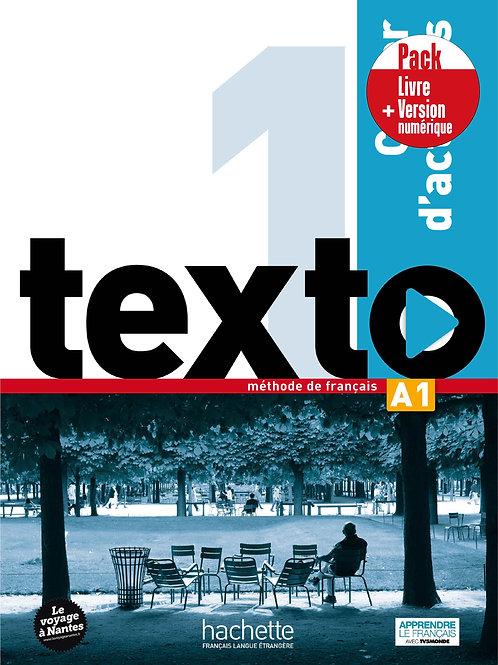 TEXTO-1/PACK CAHIER+VERSION NUMERIQUE