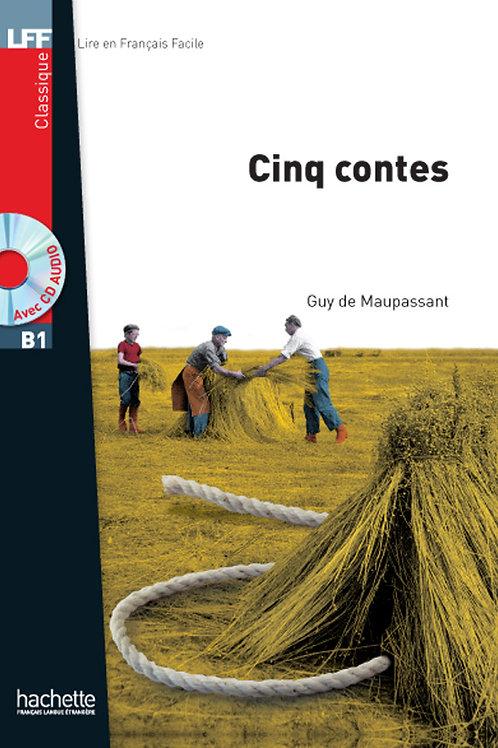CINQ CONTES (+CD MP3)