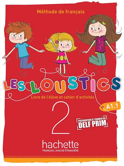 LES LOUSTICS 6N-2/LIVRES DE L'ELEVE+CAHIER D'ACTIVITES+CD AUDIO