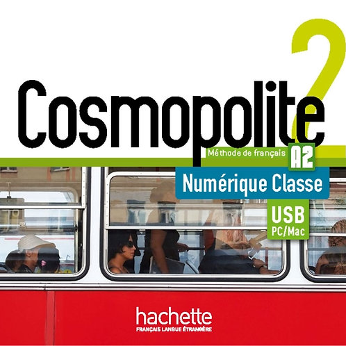COSMOPOLITE-2/MANUEL NUMERIQUE ENSEIGNANT (CLE USB)