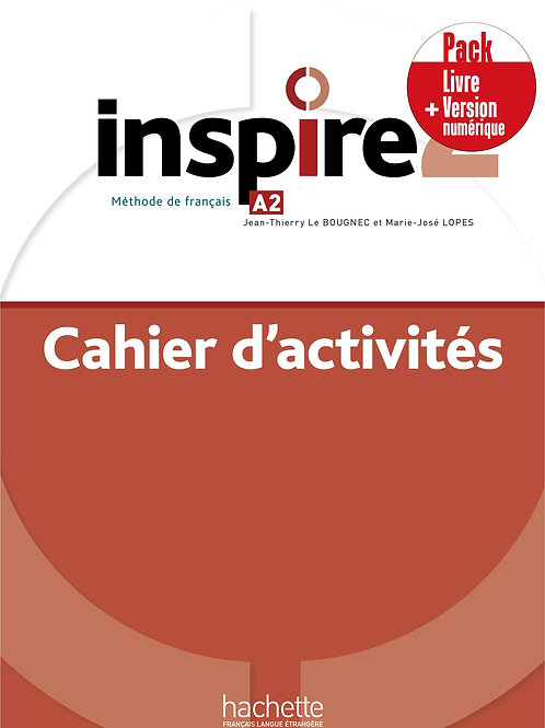 INSPIRE-2/PACK CAHIER+VERSION NUMERIQUE