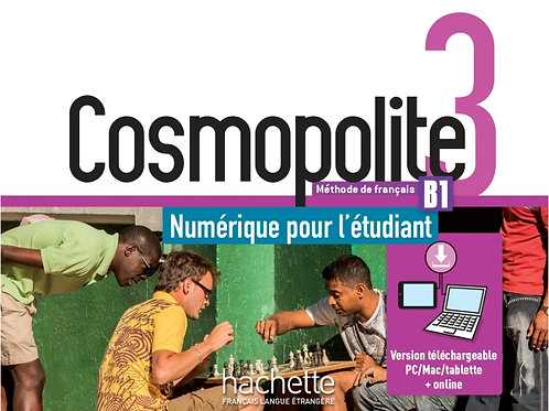 COSMOPOLITE-3/MANUEL NUMERIQUE ELEVE (CARTE)
