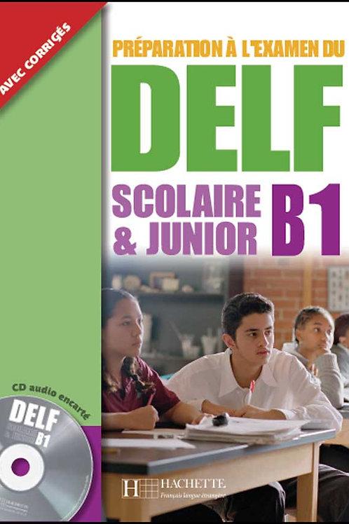 DELF SCOLAIRE&JUNIOR-B1(LIVRE+CD)