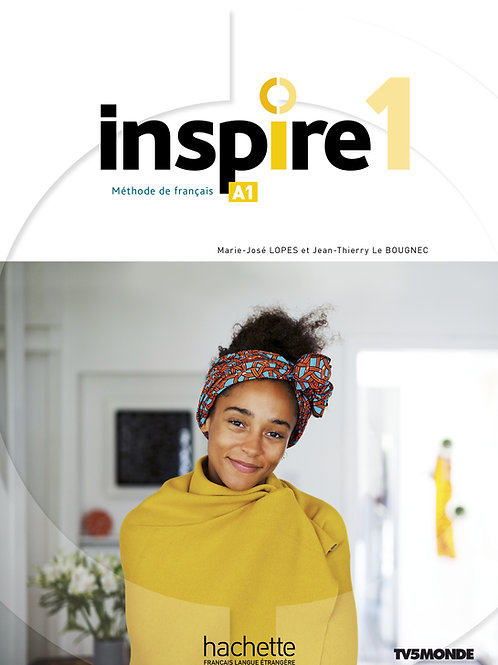 INSPIRE-1/LIVRE DE L'ELEVE+AUDIO/VIDEO+PARCOURS DIGITAL