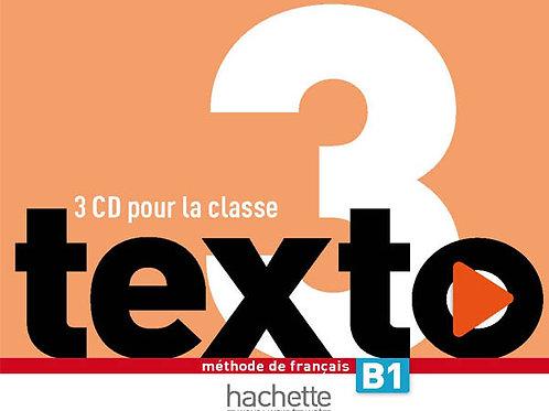 TEXTO-3/CD AUDIO CLASSE