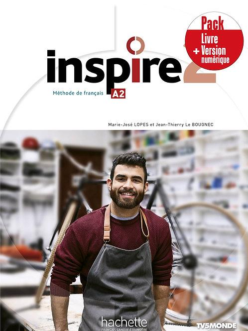 INSPIRE-2/PACK LIVRE+VERSION NUMERIQUE