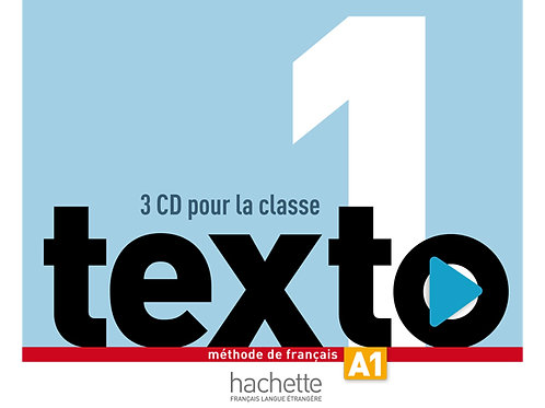 TEXTO-1/CD AUDIO CLASSE