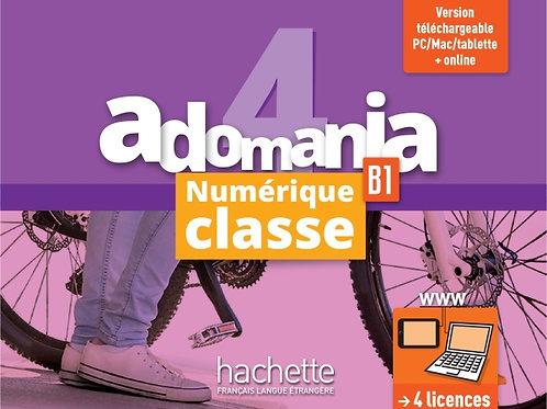 ADOMANIA-4/MANUEL NUMERIQUE ENSEIGNANT (CARTE)