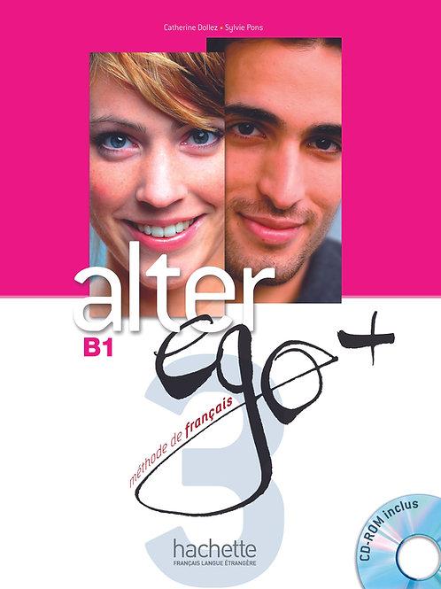 ALTER EGO+-3/LIVRE DE L'ELEVE+CD-ROM