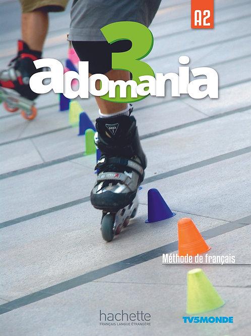 ADOMANIA-3/LIVRE DE L'ELEVE+DVD-ROM