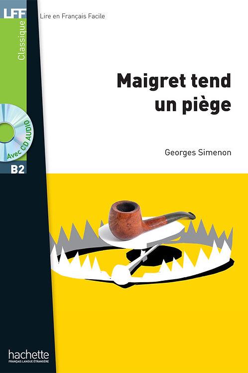 MAIGRET TEND UN PIEGE (+CD MP3)
