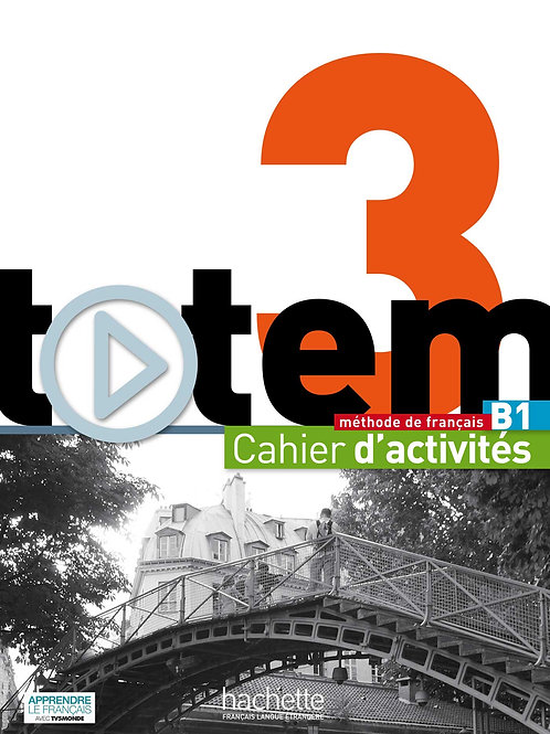 TOTEM-3/CAHIER D'ACTIVITES+CD AUDIO