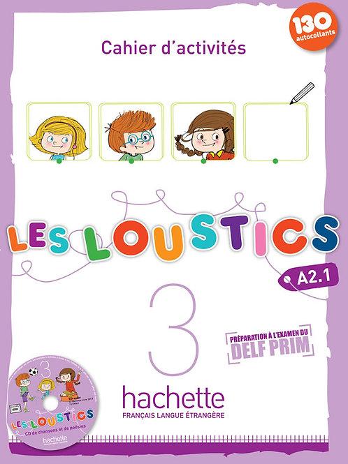 LES LOUSTICS-3/CAHIER D'ACTIVITES+CD AUDIO