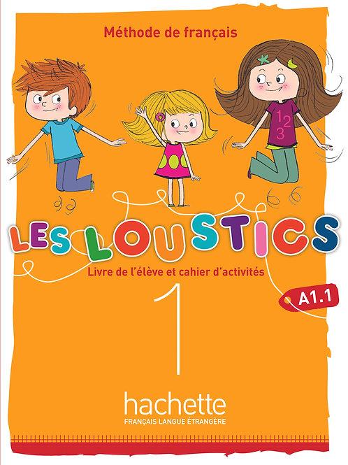 LES LOUSTICS 6N-1/LIVRES DE L'ELEVE+CAHIER D'ACTIVITES+CD AUDIO