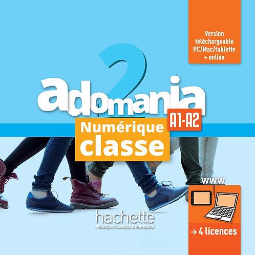 ADOMANIA-2/MANUEL NUMERIQUE CLASSE