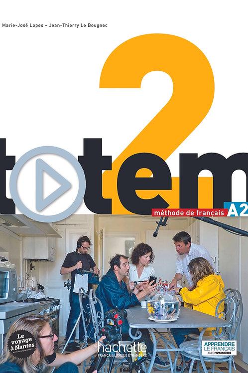 TOTEM-2/LIVRE DE L'ELEVE+DVD-ROM