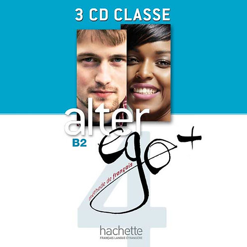 ALTER EGO+-4/CD AUDIO CLASSE