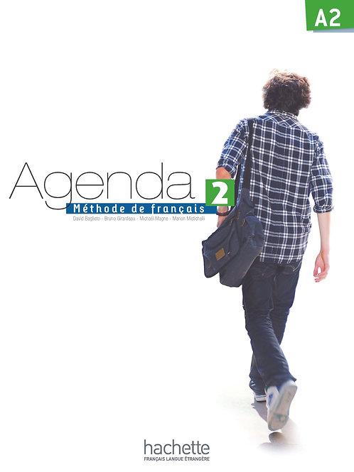 AGENDA-2/LIVRE DE L'ELEVE + DVD-ROM
