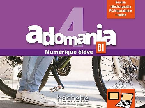 ADOMANIA-4/MANUEL NUMERIQUE ELEVE (CARTE)