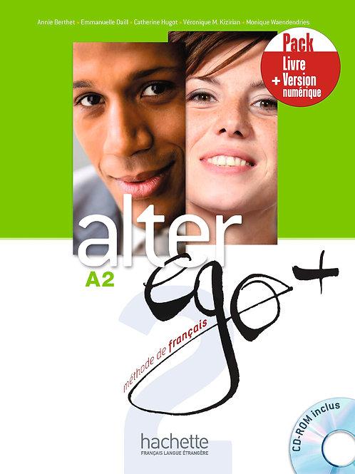 ALTER EGO+-2/PACK LIVRE+VERSION NUMERIQUE