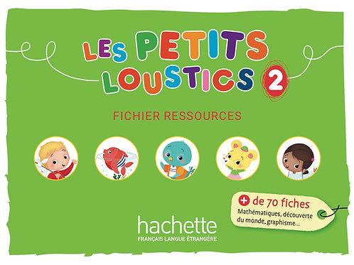 LES PETITS LOUSTICS-2/LIVRE DE L'ELEVE