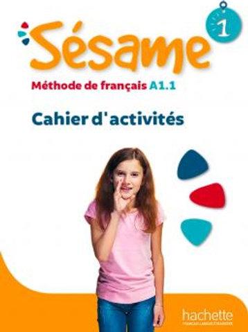 SESAME-1/CAHIER D'ACTIVITES+CD AUDIO