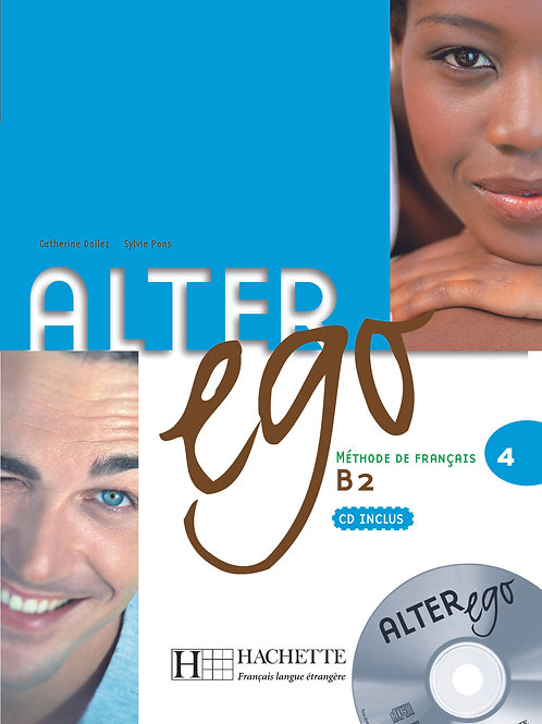 ALTER EGO-4/LIVRE DE L'ELEVE + CD AUDIO