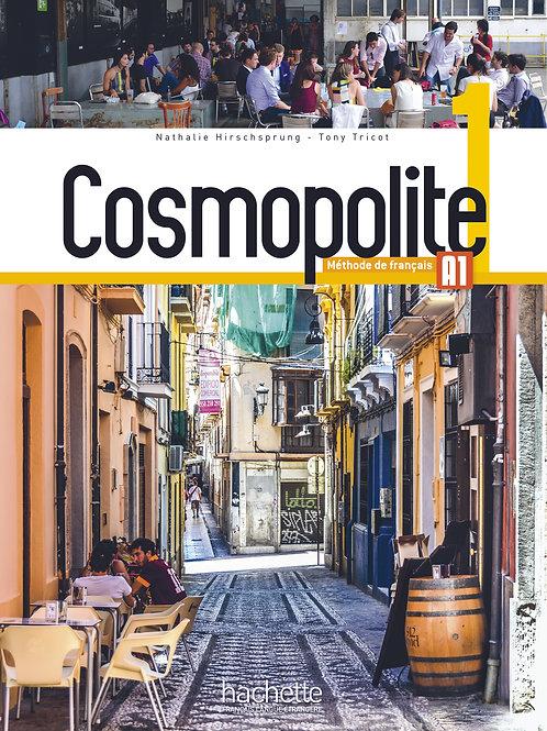 COSMOPOLITE-1/LIVRE DE L'ELEVE+DVD-ROM+PARCOURS DIGITAL
