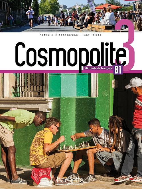 COSMOPOLITE-3/LIVRE DE L'ELEVE+DVD-ROM+PARCOURS DIGITAL