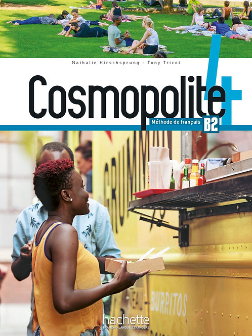 COSMOPOLITE-4/LIVRE DE L'ELEVE + DVD-ROM (AUDIO, VIDEO)