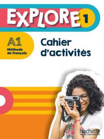 EXPLORE-1/CAHIER D'ACTIVITES+PARCOURS DIGITAL