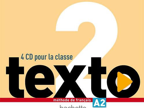 TEXTO-2/CD AUDIO CLASSE