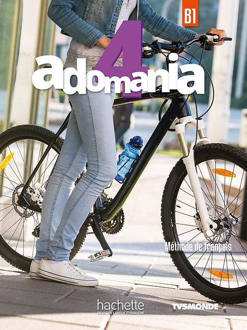 ADOMANIA-4/LIVRE DE L'ELEVE+DVD-ROM