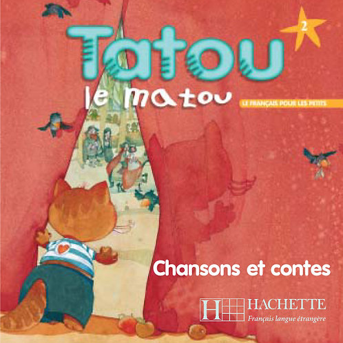 TATOU LE MATOU-2/CD AUDIO ELEVE