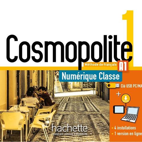 COSMOPOLITE-1/MANUEL NUMERIQUE ENSEIGNANT (CLE USB)
