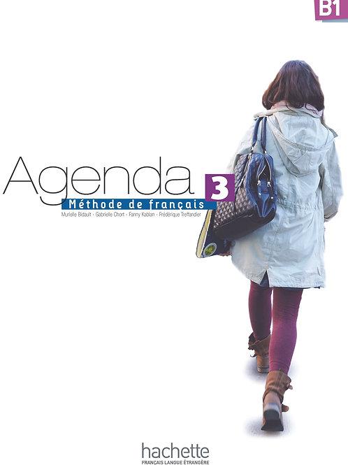 AGENDA-3/LIVRE DE L'ELEVE + DVD-ROM