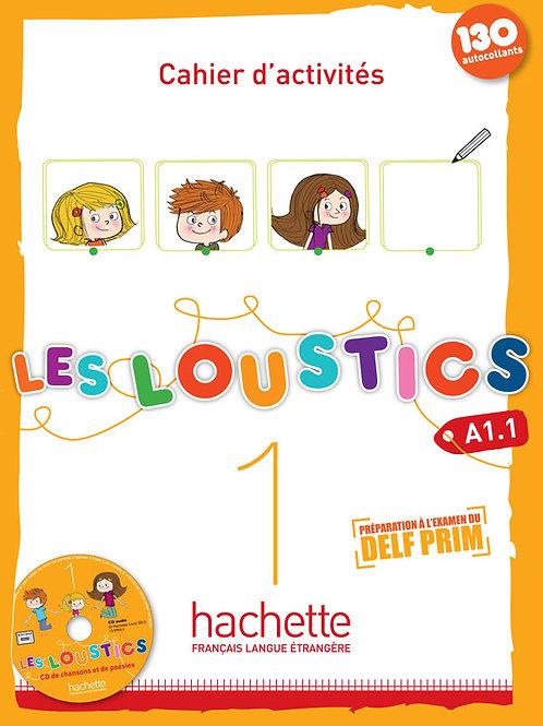 LES LOUSTICS-1/CAHIER D'ACTIVITES + CD AUDIO