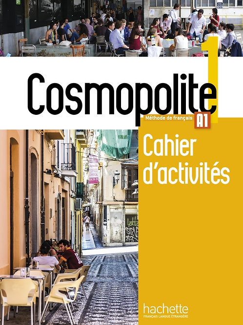 COSMOPOLITE-1/CAHIER D'ACTIVITES+CD AUDIO
