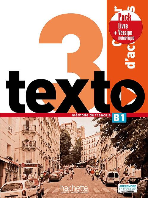 TEXTO-3/PACK CAHIER+VERSION NUMERIQUE