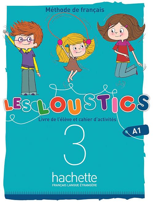 LES LOUSTICS 6N-3/LIVRES DE L'ELEVE+CAHIER D'ACTIVITES+CD AUDIO