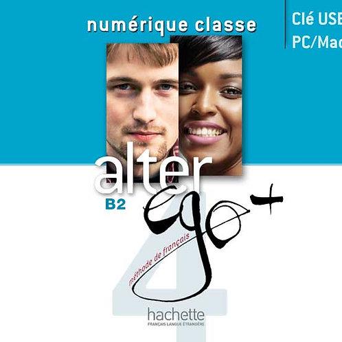 ALTER EGO+-4/MANUEL NUMERIQUE ENSEIGNANT (CARTE)