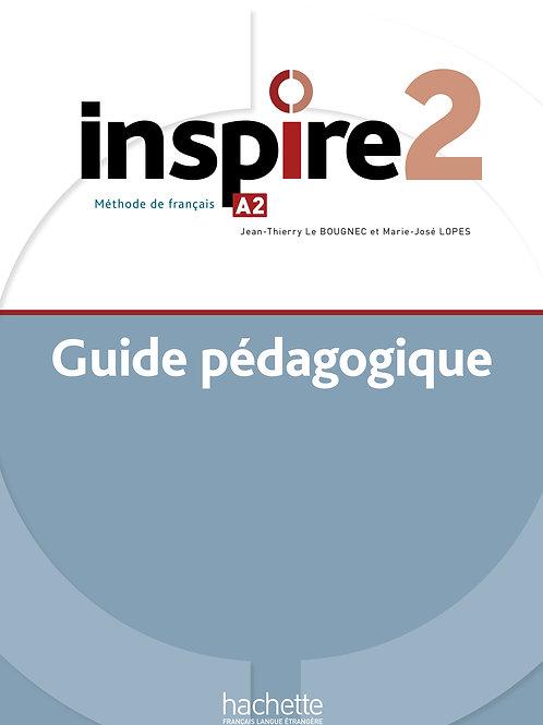 INSPIRE-2/GUIDE PEDAGOGIQUE+AUDIO (TESTS) TELECHARGEABLE