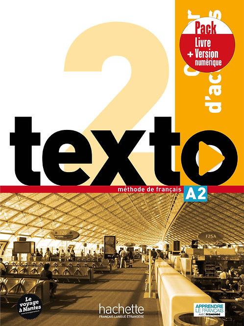 TEXTO-2/PACK CAHIER+VERSION NUMERIQUE