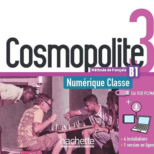 COSMOPOLITE-3/MANUEL NUMERIQUE ENSEIGNANT (CLE USB)