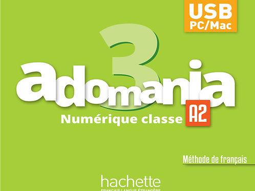ADOMANIA-3/MANUEL NUMERIQUE ENSEIGNANT (CARTE)