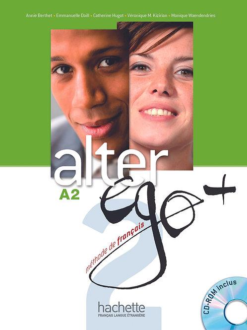 ALTER EGO+-2/LIVRE DE L'ELEVE + CD-ROM + PARCOURS DIGITAL