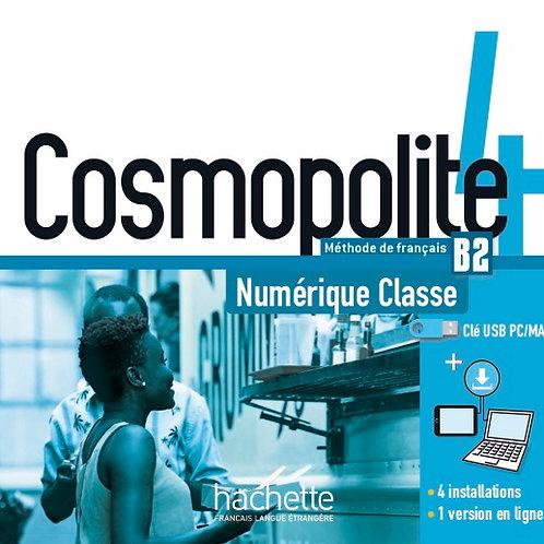COSMOPOLITE-4/MANUEL NUMERIQUE ENSEIGNANT (CLE USB)