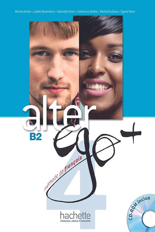 ALTER EGO+-4/LIVRE DE L'ELEVE+CD-ROM