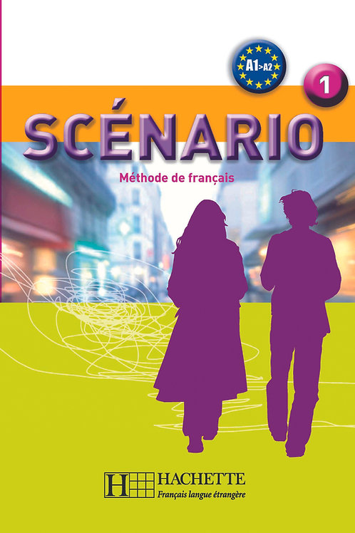 SCENARIO-1/LIVRE DE L'ELEVE+CD AUDIO