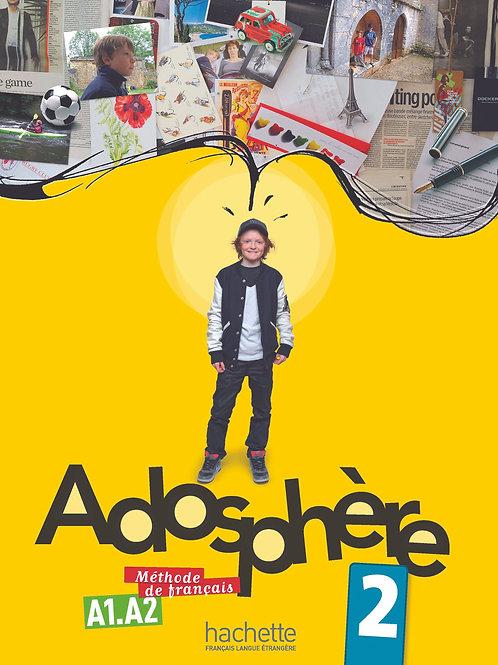 ADOSPHERE-2/LIVRE DE L'ELEVE + CD AUDIO